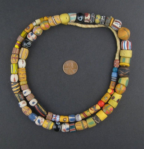 Image of Old Antique Venetian Mixed Trade Beads - The Bead Chest