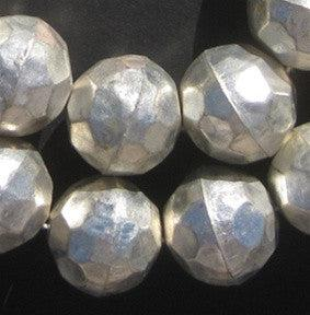 Faceted Aluminum Beads (24mm) - The Bead Chest