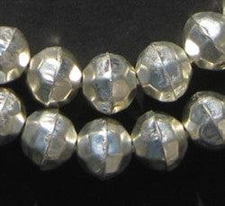 Faceted Aluminum Beads (14mm) - The Bead Chest
