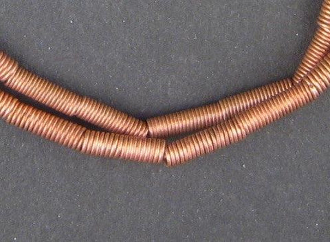 Copper Coil Beads - The Bead Chest
