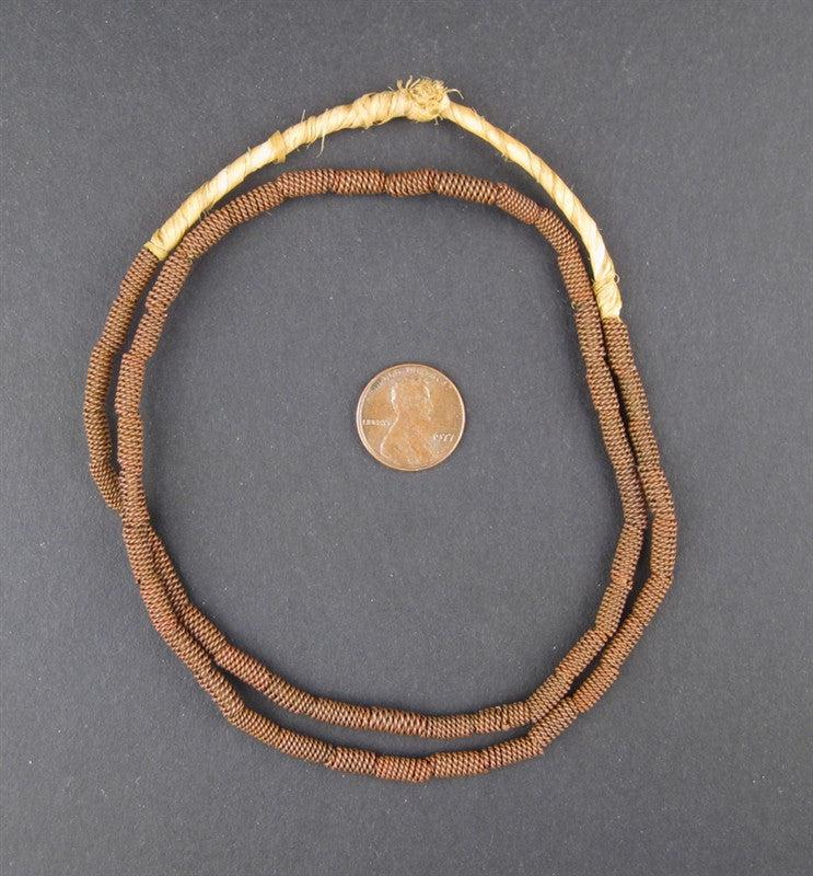Braided Copper Tube Beads - The Bead Chest
