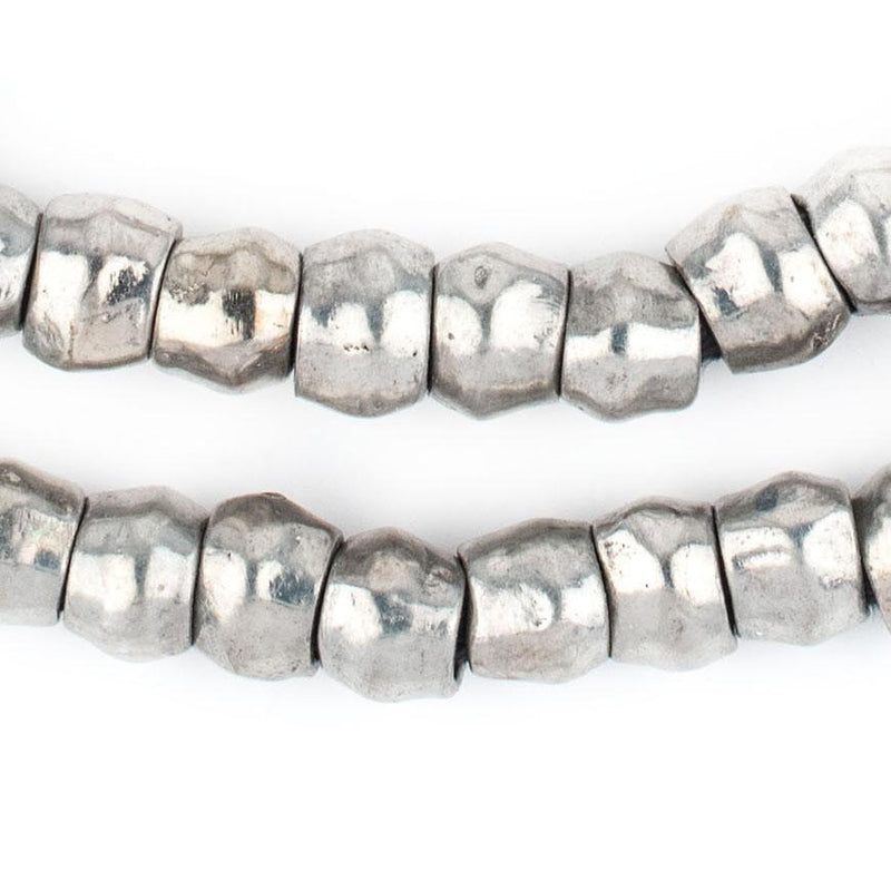 Silver Mursi Ring Beads (10mm) - The Bead Chest