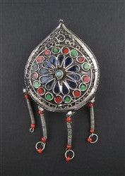 Image of Vintage Fancy Berber Pendant (Large) - The Bead Chest