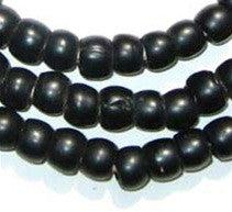 Vintage Black Padre Beads - The Bead Chest