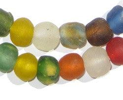Multicolor Recycled Glass Beads (Small) - The Bead Chest
