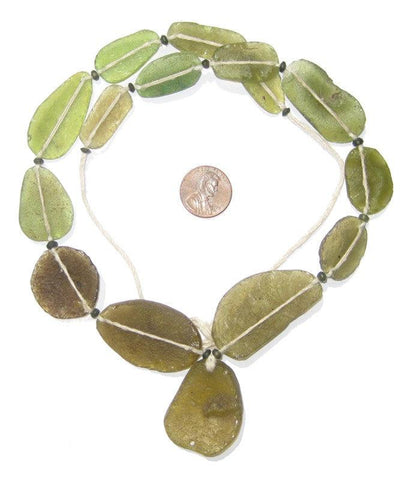 Image of Roman Glass Necklace - The Bead Chest