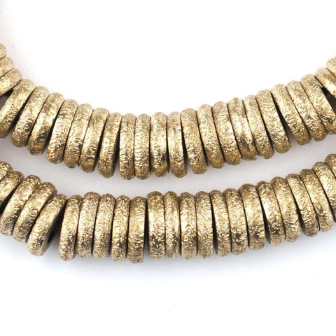 Brass Donut Beads (10mm) - The Bead Chest
