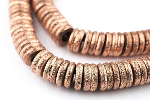 Copper Donut Beads (10mm) - The Bead Chest