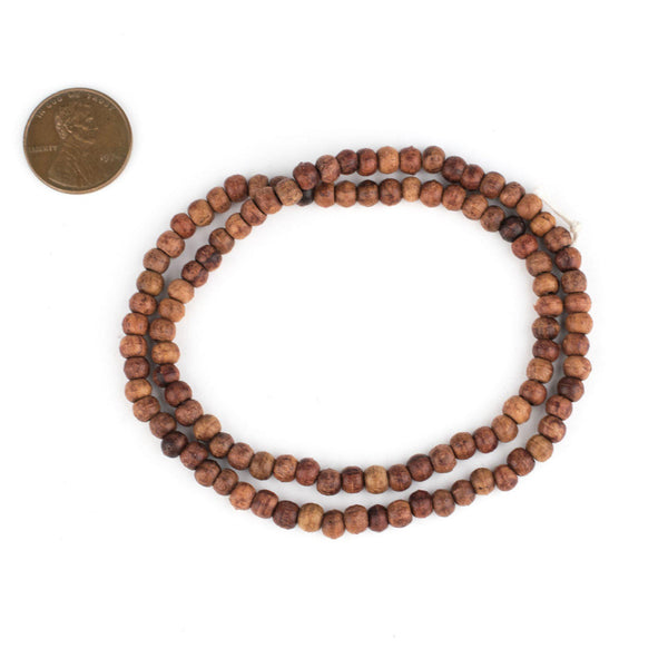 Rosewood Beads (4x5mm)