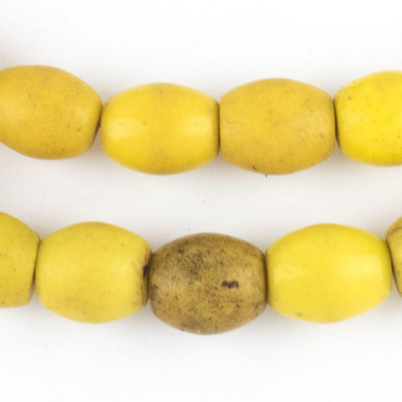 Bohemian Colodonte Beads (Yellow) - The Bead Chest
