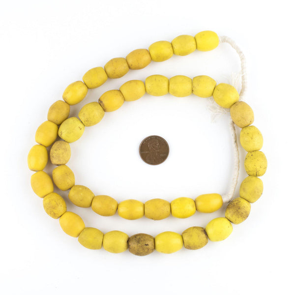 Bohemian Colodonte Beads (Yellow)