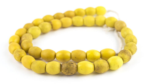 Image of Bohemian Colodonte Beads (Yellow) - The Bead Chest