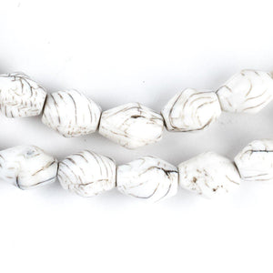Naga Shell Bicone Beads (12x9mm) - The Bead Chest