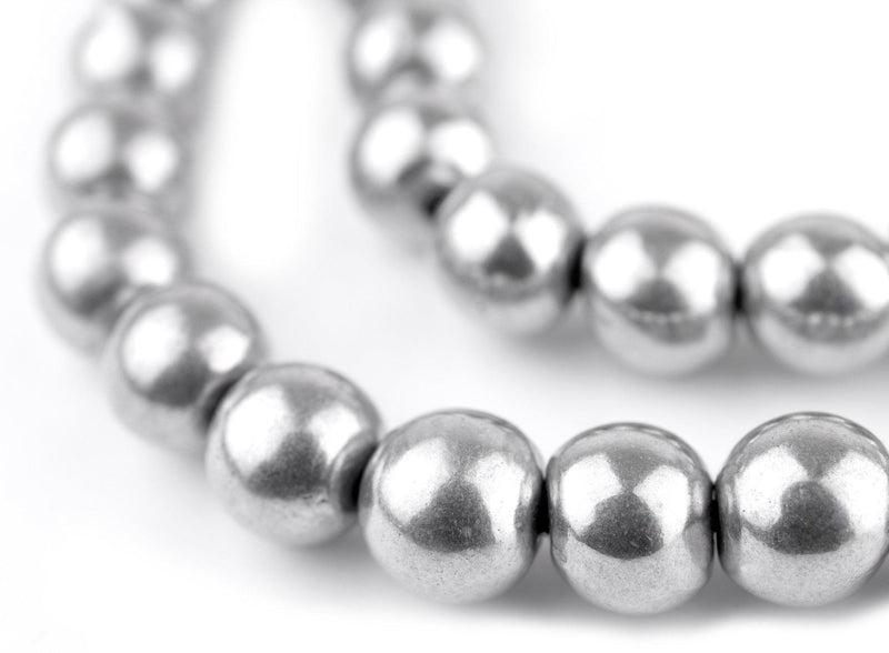 Round Aluminum Beads (10mm) - The Bead Chest