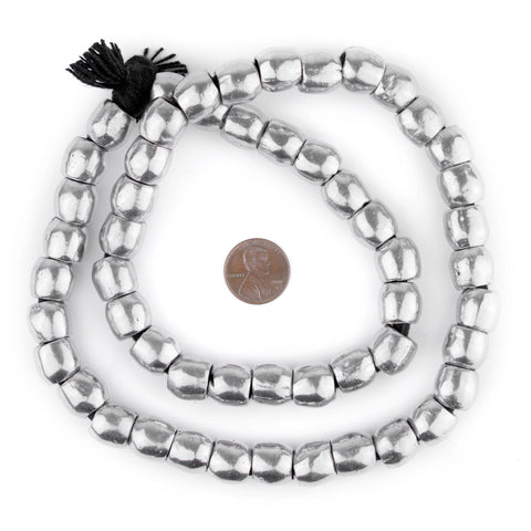 Aluminum Mursi Ring Beads (12mm) - The Bead Chest