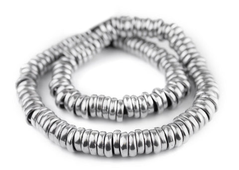 Aluminum Mursi Ring Beads (16mm) - The Bead Chest