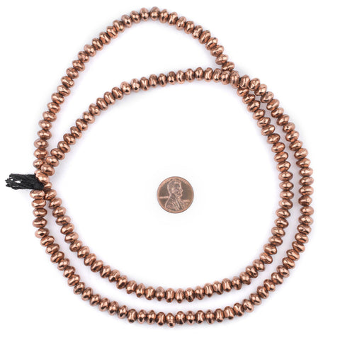 Copper Nugget Beads (5x7mm) - The Bead Chest