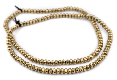 Image of Brass Nugget Beads (5x7mm) - The Bead Chest