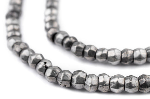 Image of Silver Mursi Ring Beads (8mm) - The Bead Chest