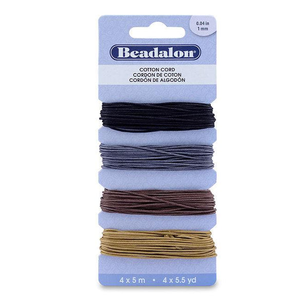 Cotton Cord Variety Pack (65ft) - The Bead Chest