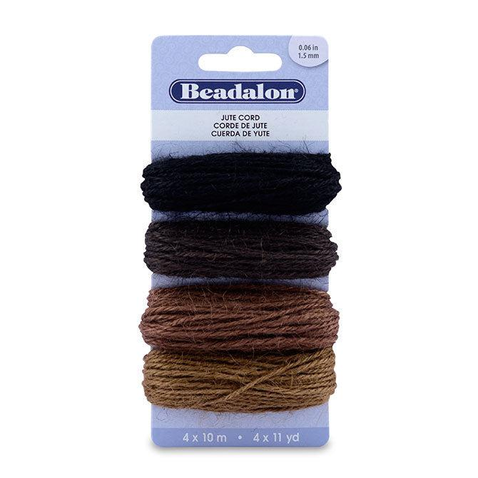 Jute Cord Variety Pack (130ft) - The Bead Chest