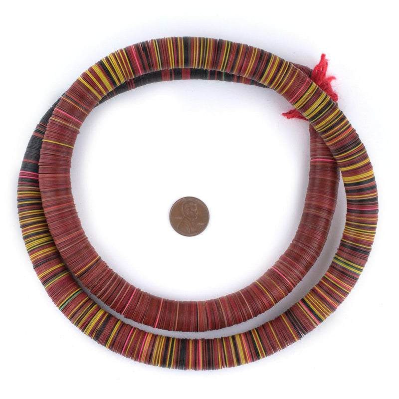 Vintage Vinyl Phono Record Beads (14mm)