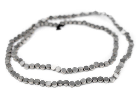 Image of Circular Disk Silver Beads (5mm)
