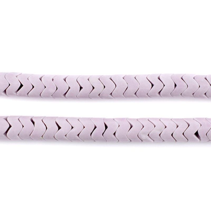 Lavender Agate Interlocking Snake Beads (6mm)