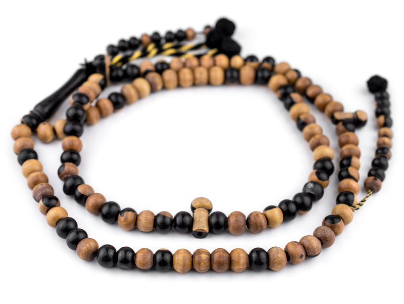Round Ebony Arabian Prayer Beads (10mm) - The Bead Chest