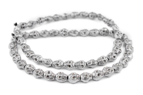 Image of Aluminum Skull Beads (14x12mm) - The Bead Chest