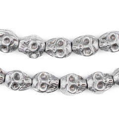 Aluminum Skull Beads (14x12mm)