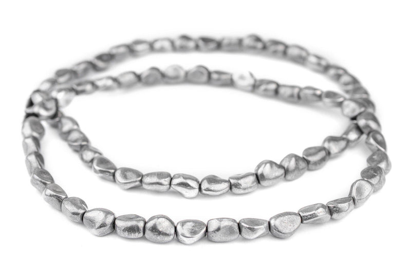Aluminum Metal Nugget Beads (12x9mm) - The Bead Chest