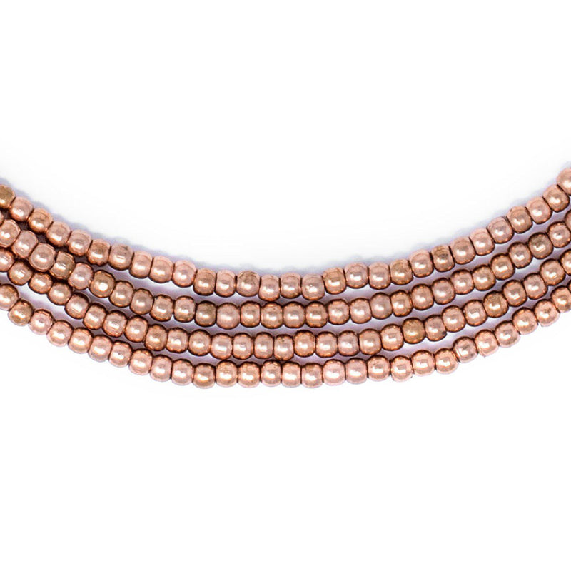 Copper Seed Beads (3mm) - The Bead Chest