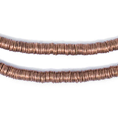 Copper Interlocking Crisp Beads (6mm)