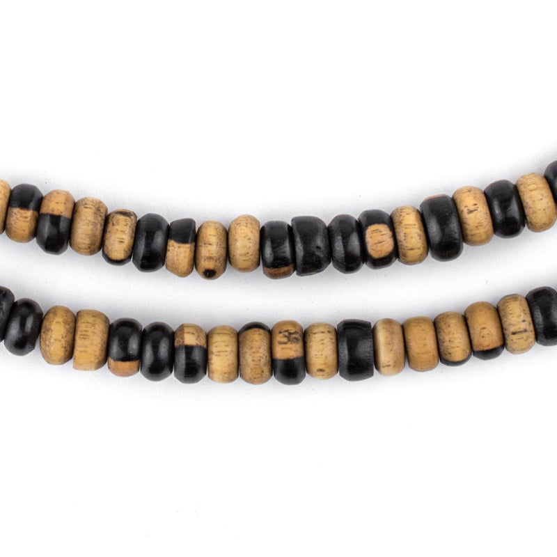 Rondelle Ebony Arabian Prayer Beads (6mm) - The Bead Chest