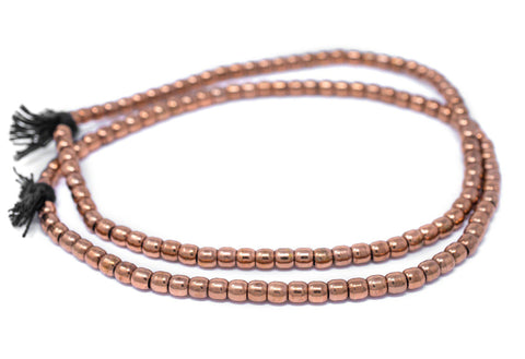 Copper Miniature Padre Beads (6mm) - The Bead Chest
