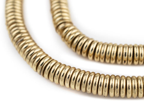 Brass Donut Beads (8mm) - The Bead Chest