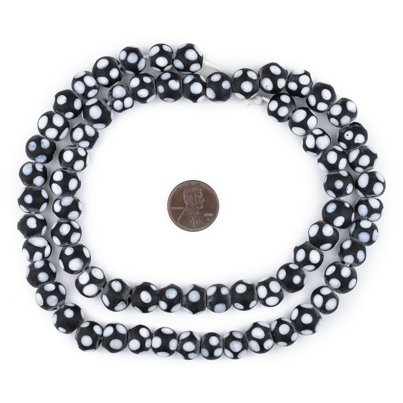 Black Skunk Beads (10mm)