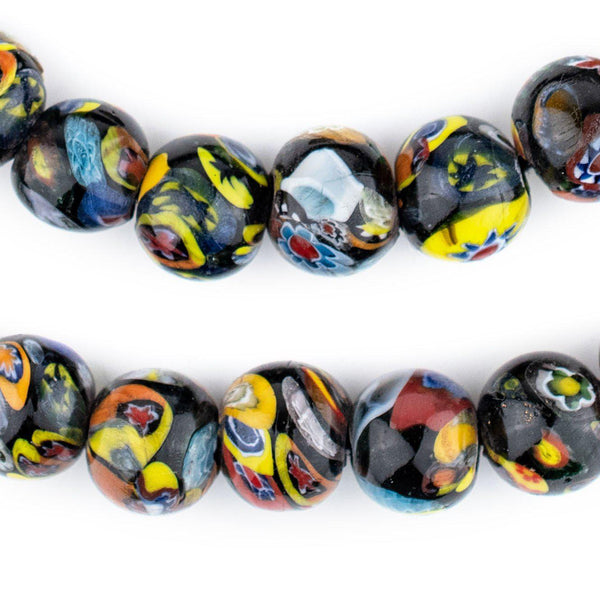 Round Millefiori Beads (15mm)