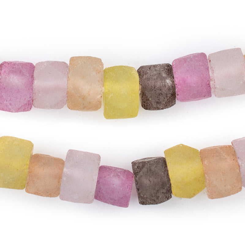 Pizzazz Mix Recycled Java Sea Glass Beads - The Bead Chest