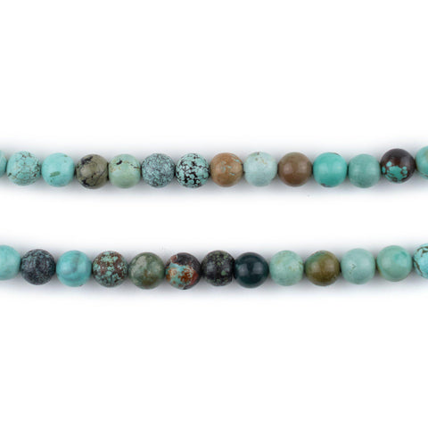 Round Turquoise Beads (5mm)