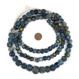 Authentic Ancient Roman Eye Beads (Long Strand)