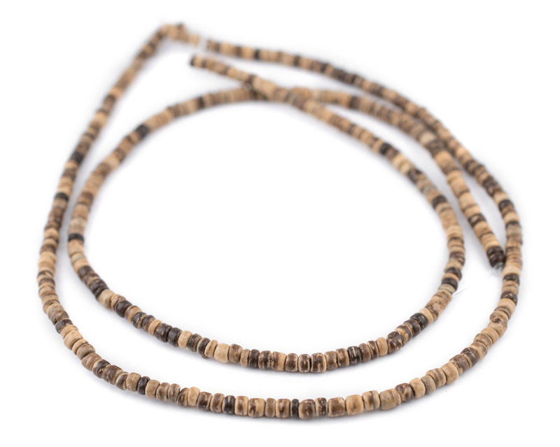Rustic Nugget Coconut Shell Beads (3-4mm) - The Bead Chest
