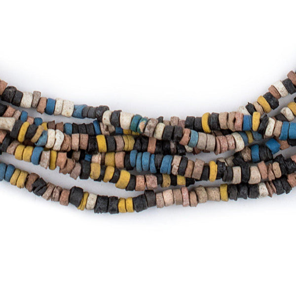 Beige Medley Pharaonic Pottery Beads - The Bead Chest