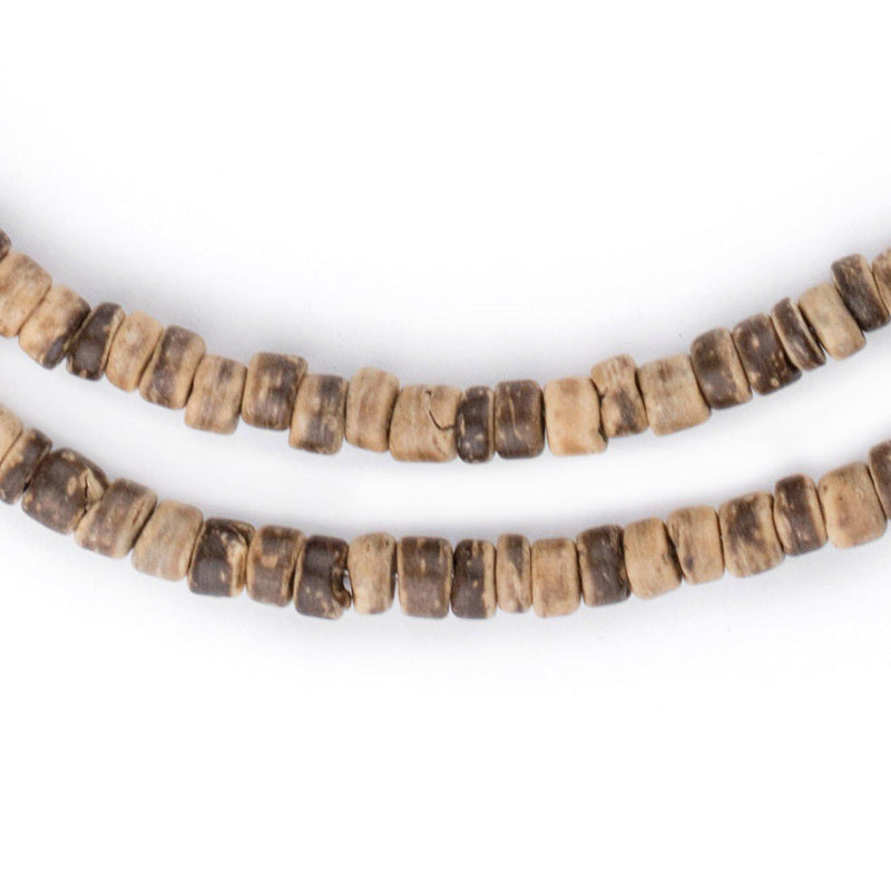 Rustic Disk Coconut Shell Beads (5mm) - The Bead Chest