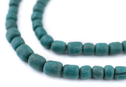 Image of Teal Java Glass Beads (6-8mm) - The Bead Chest