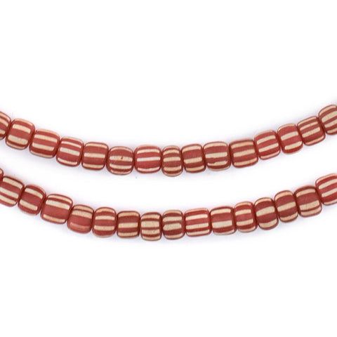 Image of Vintage Orange Java Gooseberry Beads - The Bead Chest