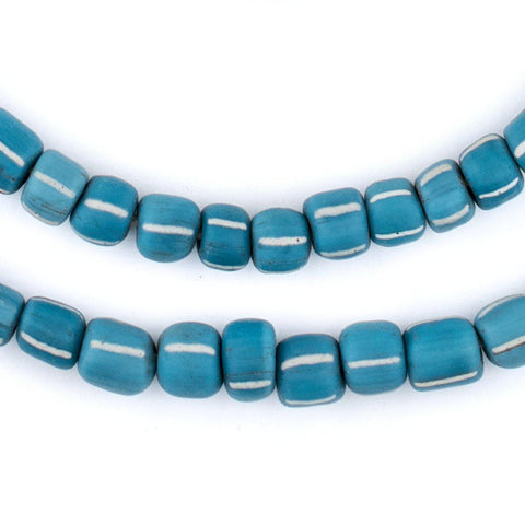 Image of Teal Java Gooseberry Beads (6-8mm) - The Bead Chest