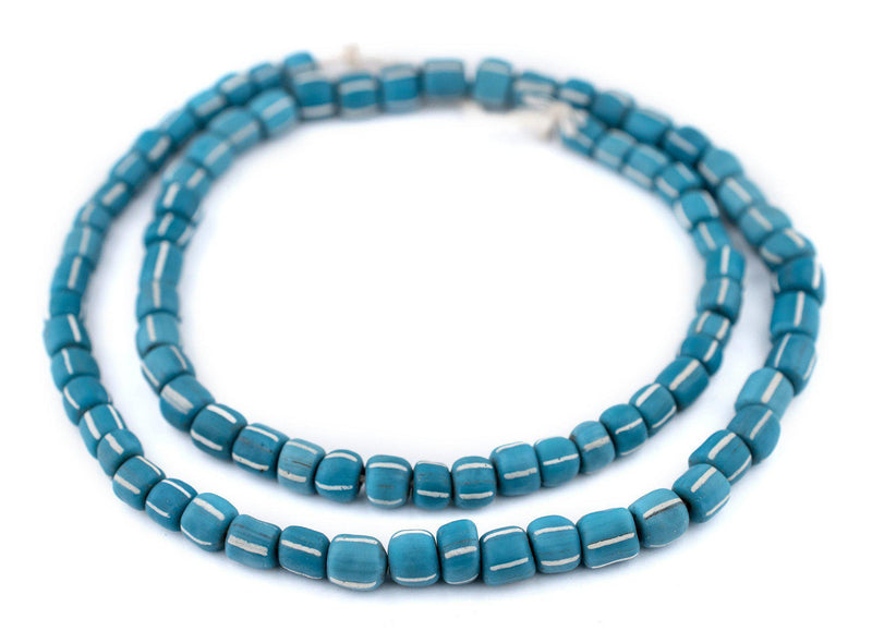 Teal Java Gooseberry Beads (6-8mm) - The Bead Chest