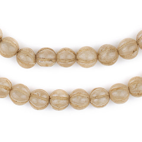 Nepali Quartz Stone Beads (9mm) - The Bead Chest